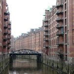  ein Fleet in der Speicherstadt