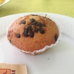  Do not miss the choco chip muffin!