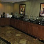  Complimentary Breakfast Bar