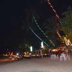 Mirissa Beach at night
