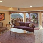  Pacifica Hotel Lobby Lounge with Cove view