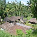A typical Balinese compound