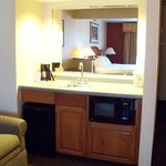  Sink Area One King Bed Suite