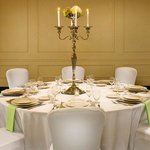 Crowne Plaza Portland: Banquet Table Setting with