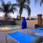  Soothing Hot tub with a scenic background of Temecula hills