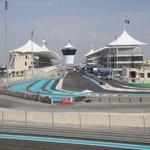 Finish Straight at Yas Marina Circuit