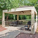 Candlewood Gazebo with Gas Grills