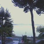 Room view onto Lake Trasimeno