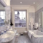 Bathrooms with Italian Carerra Marble