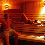 Relax and unwind in our sauna or steam bath