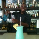Best bartender!!! Bay Bistro