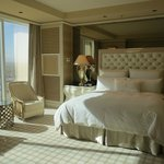  Beuatiful bedroom with view of the strip