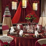 Wedding VIP Table Setup - Oriental Romance