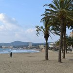  spiaggia di fronte all&#39;hotel