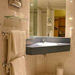 Guest Bathroom with invigorating showers and amenities.