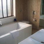  Deluxe Room Bathroom at Galaxy Hotel and Spa 