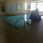  Inside pool