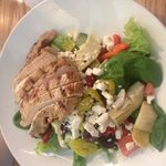 Petite Greek Salad with Chicken