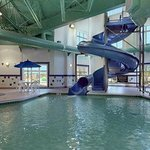  Indoor Pool Waterslide and Hot Tub