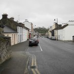 Looking down the main street of Mohill, in the other direction