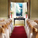  Garden Room  Civil Ceremony Setup
