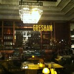 Outside view of Gresham Restaurant