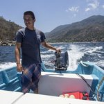 Ramon Captaining us to Yelapa