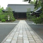 Koryu-ji Temple - easy walk from guesthouse