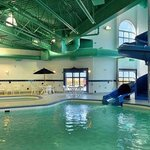 Indoor Pool Hot tub and Waterslide