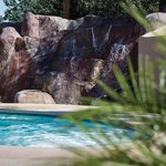 Pool Area Waterfall