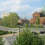 View from third floor executive suite onto Logan Circle