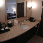 Spacious Vanity Areas