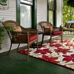  front porch swing and chairs