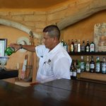 Amador making one of his Killer margaritas!