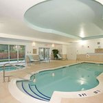 Indoor Pool & Spa Area