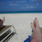 View from the Point Grace Beach Chairs!