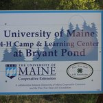 University of Maine's 4H Camp and Learning Center at Bryant Pond.