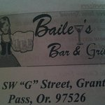 Baileys bar and grill
