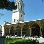 Interior building in Topkapi palace