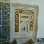 Ablution fountain in Topkapi palace