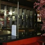 bar in the hotel (showing)