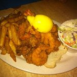 fried shrimp & oysters