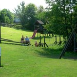  The park on site suitable for all ages, will keep the children quite for hours. Also there is ro