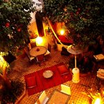 Lorraine's photo of Riad Aguerzame courtyard