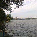 the lake of Herestrau park