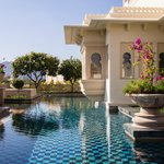  Private pool of Kohinoor Suite