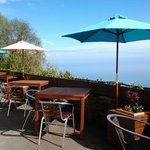 Terrace & view of Lynmouth Bay