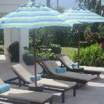  Pool Deck with New Umbrellas