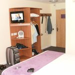 Room Unit Showing TV
