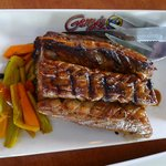  Very nice grilled tuna belly at Gerry&#39;s Grill